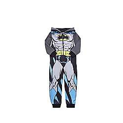 DC Comics Batman Onesie ages 3-10yrs was £10 now £5 C+C @ Tesco Direct (DC Comics Justice League Fleece Onesie & Spider-man Onesie also £5)