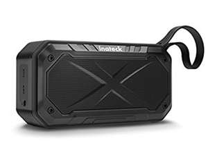Inateck IPX 7 Waterproof Shockproof Bluetooth Speaker with 5W Driver, Amazon lightning deal £12.99 (Prime) £16.98 (Non Prime) @ Sold by Inateck and Fulfilled by Amazon