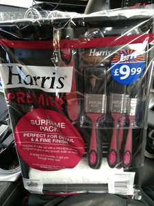 Harris Supreme Decorating Pack. Was £9.99 now £1. B&M Bargains