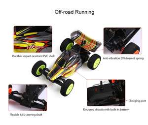 ZINGO RACING 9115 1:32 Micro RC Off-road Car RTR 20km/h / Impact-resistant PVC Shell / Drifting. £6.95 delivered @ Dresslily using code
