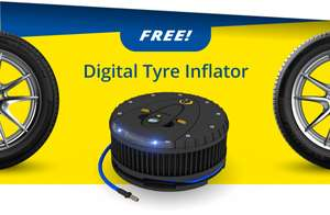 Free Digital Tyre Inflator With Michelin Primacy 4 Tyres at BlackCircles