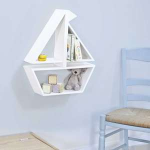 Upto 70% Off Sale instore / online @ JoJo Maman Bebe eg Wooden Boat Wall Shelf was £35 now £15 / Peppa Pig Or George Jiggle was £16 now £5 (Free Del wys £35 / £3.95 under £35)