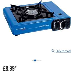 Camping gas cooker stove £9.99 at Argos