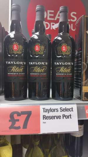 75cl Taylors select reserve port  £7 - Co-op foods instore