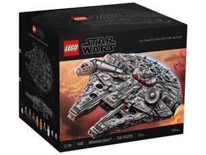 Lego 75192 Millennium Falcon back in stock at Lego.com £649.99