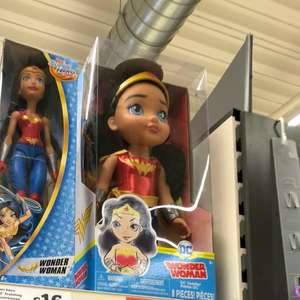 Dc toddler doll reduced to £11.50 @  sainsbury's instore
