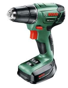 Bosch PSR 14.4 LI Cordless Drill Driver with 14.4 V Lithium-Ion Battery (currently OOS but available to order) £40.00 shipped at Amazon