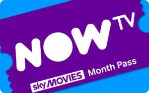 NOW TV for one month of cinema pass free with code