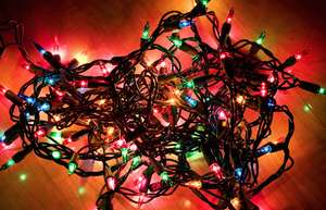 Christmas lights 93.75% OFF Tesco in store only - all stock which is left on shelves