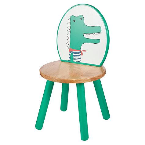 John Lewis Baby's Chair Green / Orange £12.50 - £2 c&c