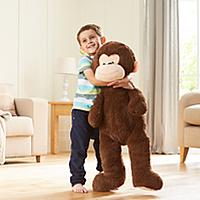Giant Monkey - 1 Metre Now £10 C+C @ Asda George (more in OP inc Elephant / Teddy / Unicorn / Dog)
