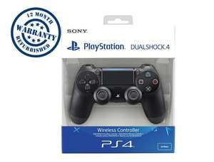 Sony PS4 DualShock 4 v2 Wireless Controller Jet Black - Grade A- Retail Boxed 12 Months Warranty £34.99 @ Student computers