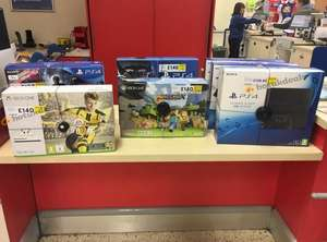 Xbox One S 500GB with Fifa 17 or Minecraft - £140 @ Lurgan Tesco (plus other Tesco instore fire sale / gaming deals)