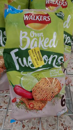 Walkers oven baked fusions 6 pack 42p @ Morrisons
