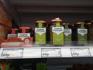 English Provender pickles 69p at Poundstretcher