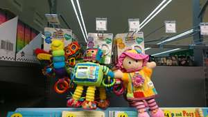 Various Lamaze toys £8 in store at New Brighton Morrisons