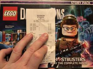 LEGO Dimensions: Various see op e.g Ghostbusters Story Pack £10 @ Tesco - Westwood Cross