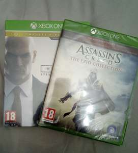 Assassins creed Ezio collection & Hitman 1st season steel book Xbox one £5 each @ Asda instore