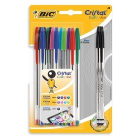Bic cristal ball point pens + 2 stylus pens £1 @ Poundland