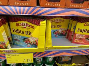 Knorr Enchilada kits at £0.69/2 for £1 in store at b&m