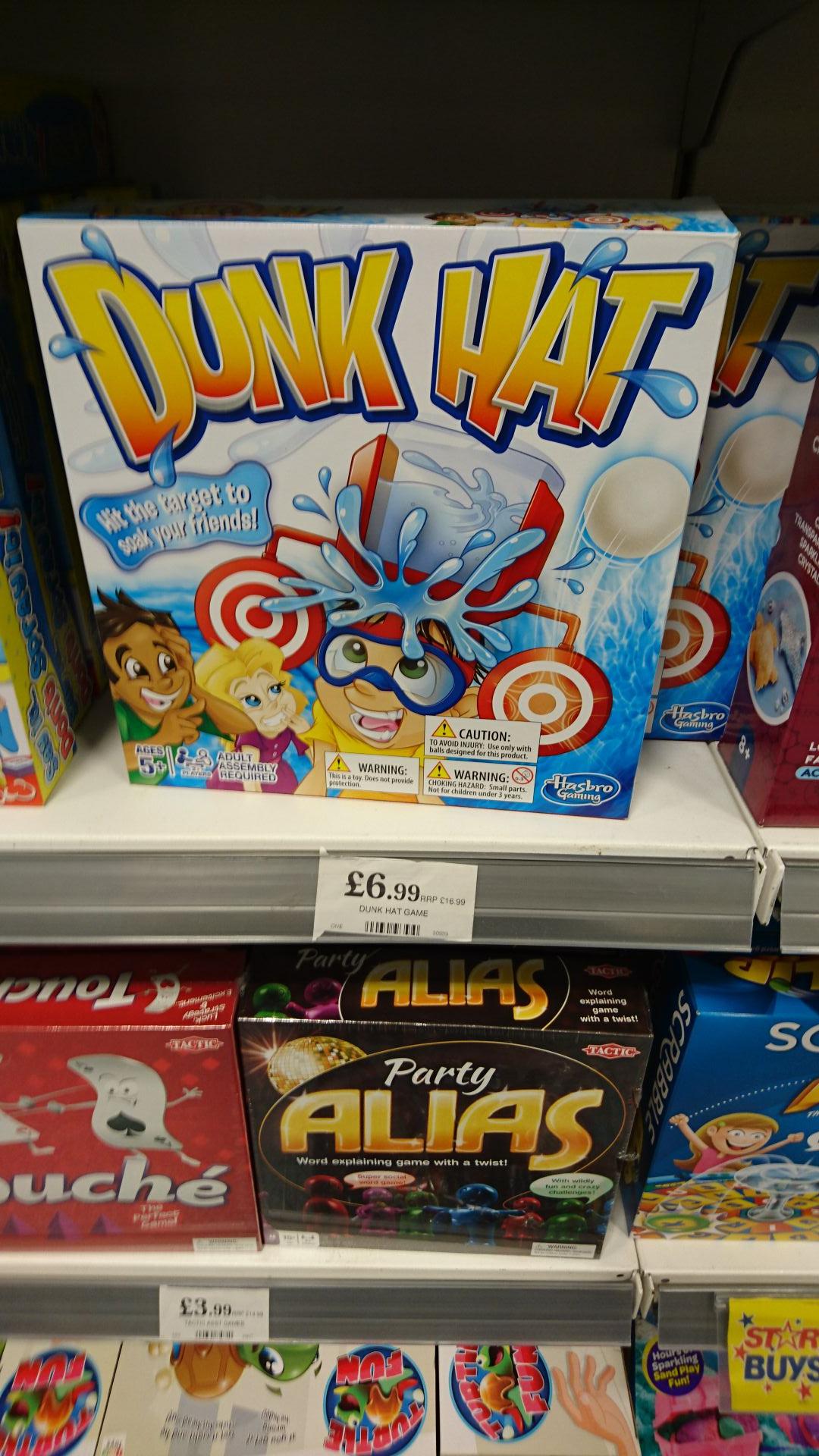 Dunk hat game £6.99 home bargains ( prenton)