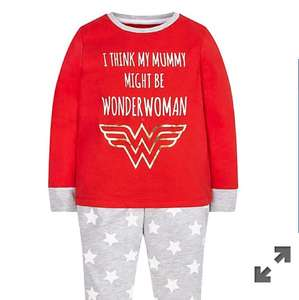 Mothercare Pyjamas - DC Wonder Woman aged 3-4 only (free C&C) £2 @ Mothercare