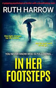 Reduced to 99p - In Her Footsteps: A Gripping Psychological Thriller With a Breathtaking Twist - Amazon Kindle