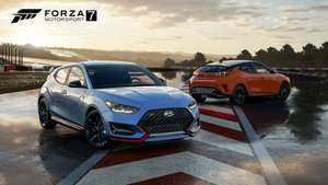 Forza 7 - 2019 Veloster Turbo and Veloster N Hyundai Car Pack (XO/Win10) Free January 16th