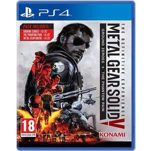 Metal Gear Solid V: The Definitive Experience (PS4) - £13.29 @ MyMemory