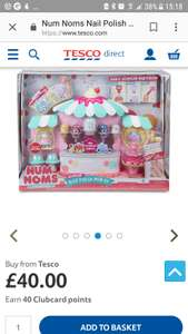 Num noms scented nail polish maker £12.50 instore @ Tesco