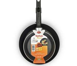 Tefal - Black Minute Frying pan twin pack 70% off at Debenhams + FREE click & collect - £20.40