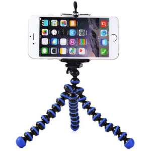 Mini Octopus Style Mobile Phone Stand Flexible Tripod @ gearbest with code
