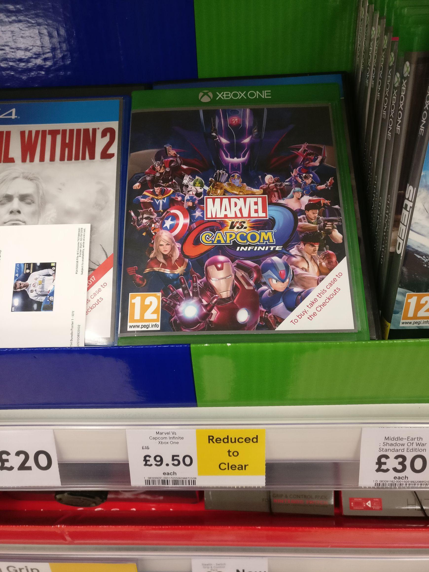 Marvel VS Capcom Infinite : Xbox One £9.50 @ Tesco In-store (Wembley)