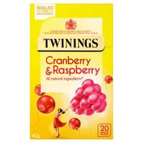 Twinings and Tetley 20 pack Fruit Tea Bags now £1 @ Asda - various flavours see below