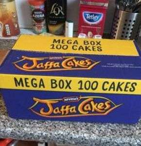 Jaffa cakes x100 - £4 - Iceland food warehouse