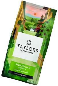 6 packs of Taylors Itialian blend coffee now £11.22 at Amazon - Enjoy free shipping when you spend £20