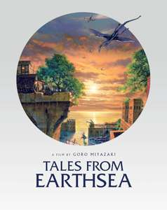 Studio Ghibli Tales From Earthsea Steelbook £15.99 @ Zavvi