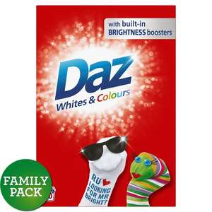 Daz White & Colours Washing Powder, 40 Washes, 2.6kg, In Store And Online, £4 @ Morrisons