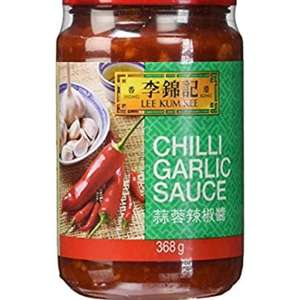 Lee Kum Kee chilli garlic sauce 368g (pack of 3) £5.70 @ Amazon Add On Item / Minimum Spend £20 (s&s with prime £4.80)