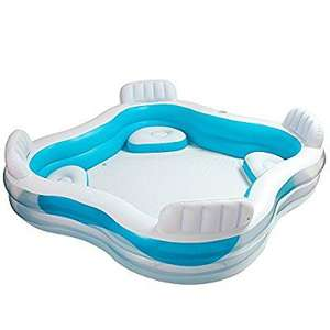Massive rain catcher - Intex Swim Centre Family Pool with Seats £21.95 Sold by The Magic Toy Shop and Fulfilled by Amazon.