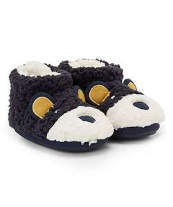 Size 4 jr Bear slippers only £1 @ Mothercare
