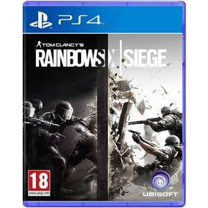 Rainbow Six Siege (PS4) - £15.63 New & Delivered @ MyMemory