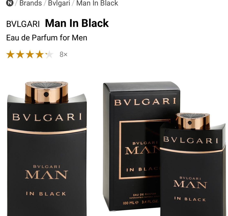 BVLGARI Man In Black Eau de Parfum for Men £43.90 @ Notino