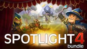 Spotlight Bundle 4 - 10 dazzling Steam games in the brand new Spotlight Bundle 4 from Fanatical. Was - £67.20 now - £2.19