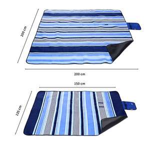 Large Outdoor Picnic Blanket,150 X 135 CM Water-Resistant £4.99 (Prime) / £9.74 (non Prime) Sold by Michael Josh Global and Fulfilled by Amazon.