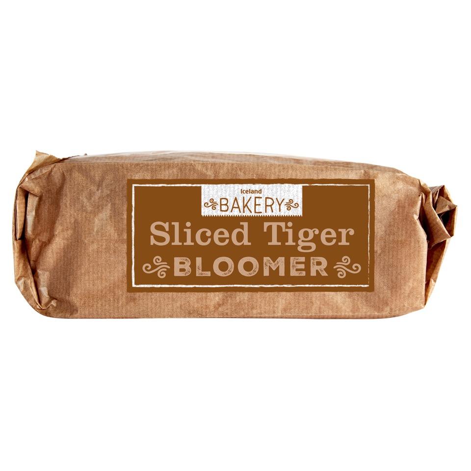 Iceland 800g Sliced Tiger Bloomer £1 or 2 for £1.60