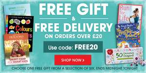 Free gift & Free delivery with £20 spend @ book people