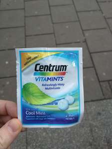 Free Centrum Vitamints Tasters @ Waterloo Station