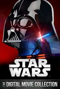 Star Wars Digital Collection : First 6 movies £7.99 Amazon