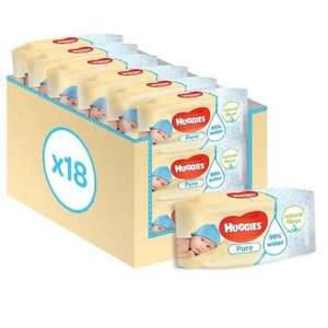 18 Pack of Huggies Wipes for £8.75 instore / online at Morrisons